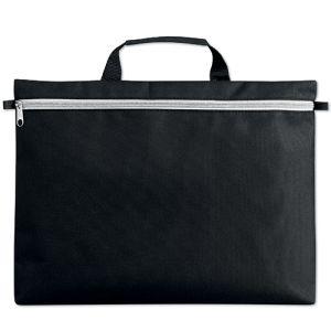 Stripe Zip Document Bags