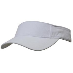 Promotional Sun Visor in White