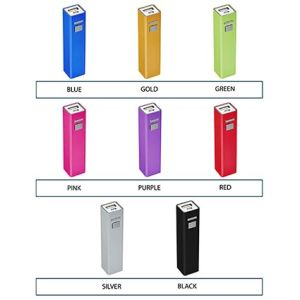 Promotional power banks for business gifts colours