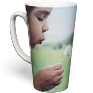 Promotional Photo Print Tall Latte Mug for Offices