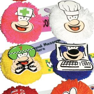 Promotional Fun Character Mopheads