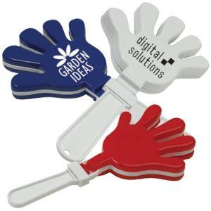 Branded hand clapper festival ideas