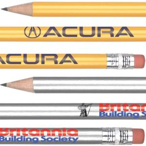 Custom printed pencils for office merchandise