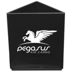 Promotional company pen pots branded with artwork