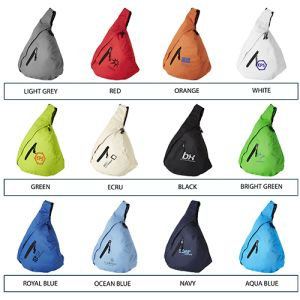 Which colour will you choose for your promotional Triangle City Bag?