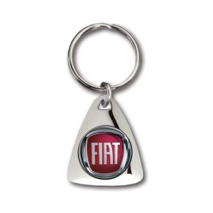 Promotional Triangle Pebble Keyrings for Business Gifts