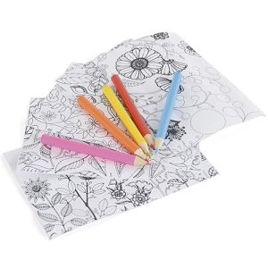 Branded colouring set for giveaways