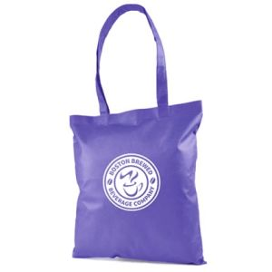 Promotional shopper bags for shop giveaways