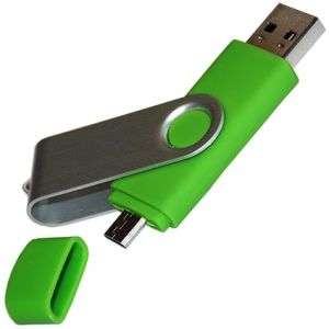 Twist Flashdrives with Micro USB