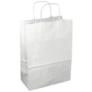 Promotional paper carrier bags for exhibitions