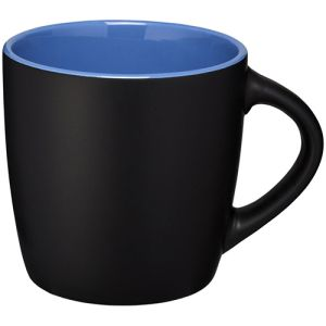 Two Tone Rivera Mugs in Black/Blue