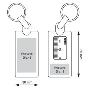 Tyre Tread Depth Keyrings