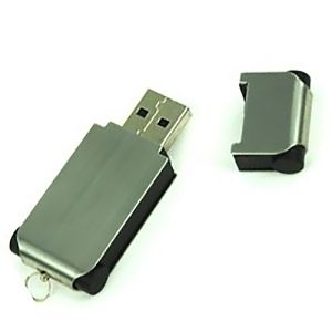 USB Brushed Steel Flashdrive