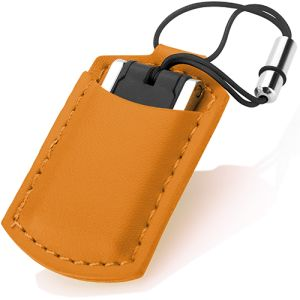Choose from 4 different colours with these USB Leather Pouch Flashdrives, which can be embossed or printed with your artwork.