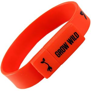 USB Silicone Wristband Flashdrives