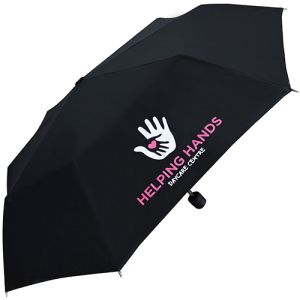 Promotional Value Supermini Telescopic Umbrellas with company logos