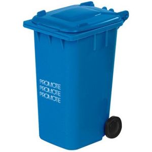 Promotional Wheelie Bin Pen Pot for desks