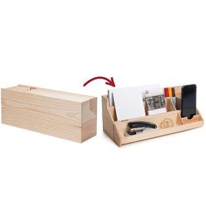 Wine Box Desk Tidies