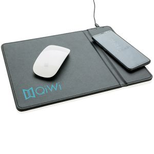 Wireless Charging Mouse Mats in Black