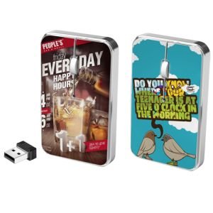 There's no way your customers can forget your brand with these vibrantly printed promotional mice!