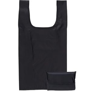 Yelsted Fold Up Shopper Bags in Black