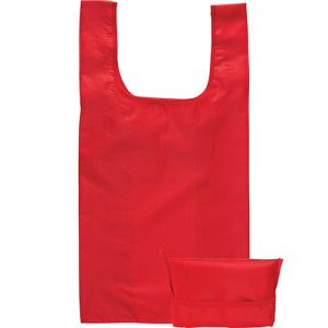 Yelsted Fold Up Shopper Bags in Red