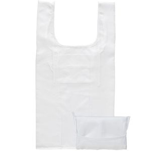 Yelsted Fold Up Shopper Bags in White