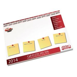 Custom printed desk pads for merchandise ideas