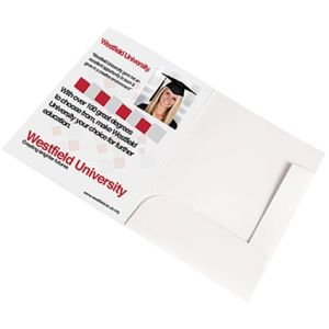 custom branded document wallets for business gifts