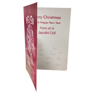 Branded Greetings Cards for Christmas