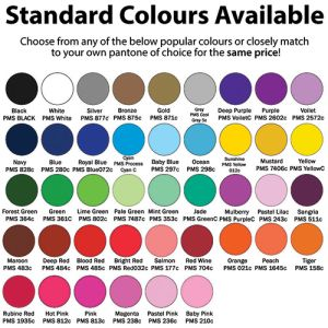 We have a huge range of standard colours available with our promotional Sticky Phone Card Holders - take your pick!