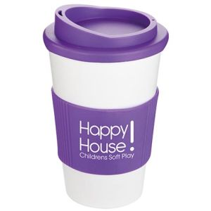 Custom branded Coffee cups with company logo