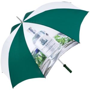 Custom branded umbrellas for sport events