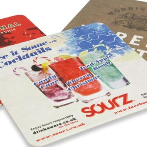 Promotional Drinks mats for restaurants