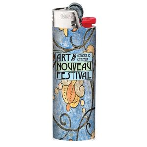 Custom printed lighter for event advertising