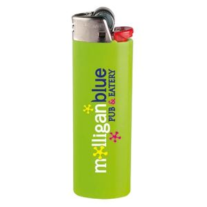 Printed lighters for festival merchandise