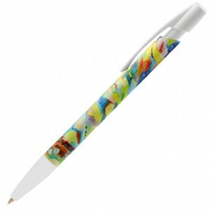 Printed Bic pens for workplace advertising