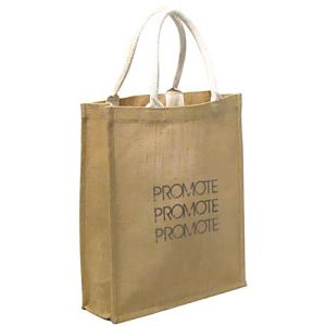 Biodegradable Jute Everyday Shopper