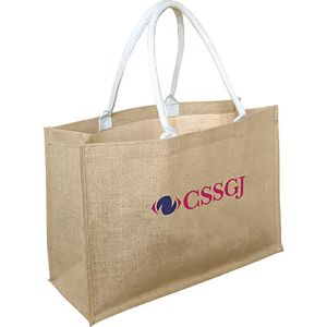 Biodegradable Large Jute Shopper Bag