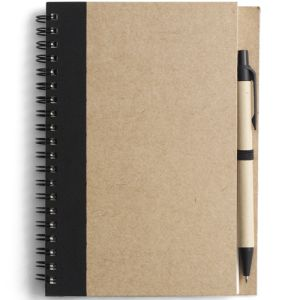 Custom printed notepads with pen for workplace gifts