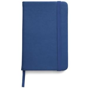 Promotional notebooks with company logos