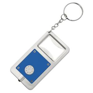 Printed bottle opener keychains for business gifts