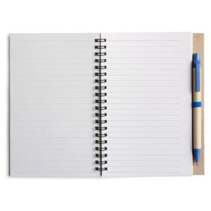 Branded noteboooks for school merchandise