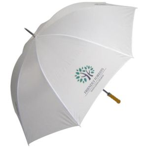 Promo Budget Golf Umbrella in White