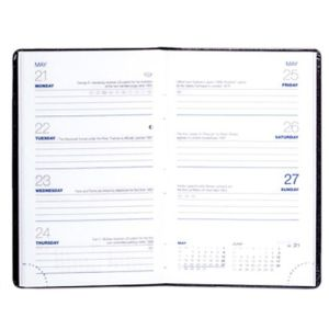 Branded week to view diaries for offices page layout