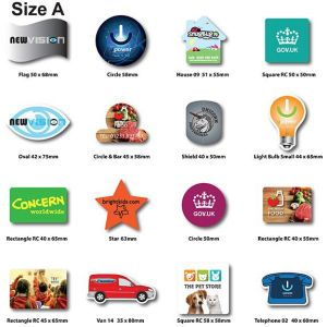 Custom shaped magnets for businesses