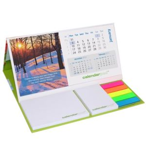 Branded calendar for workplace