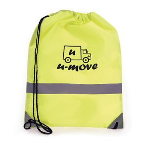 Branded drawstring bags for business gifts