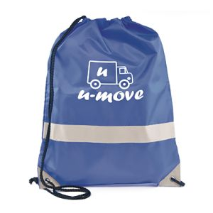 Printed backpacks for safety campaigns