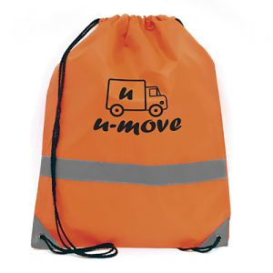 Promotional Celsius Drawstring Bag for school giveaways